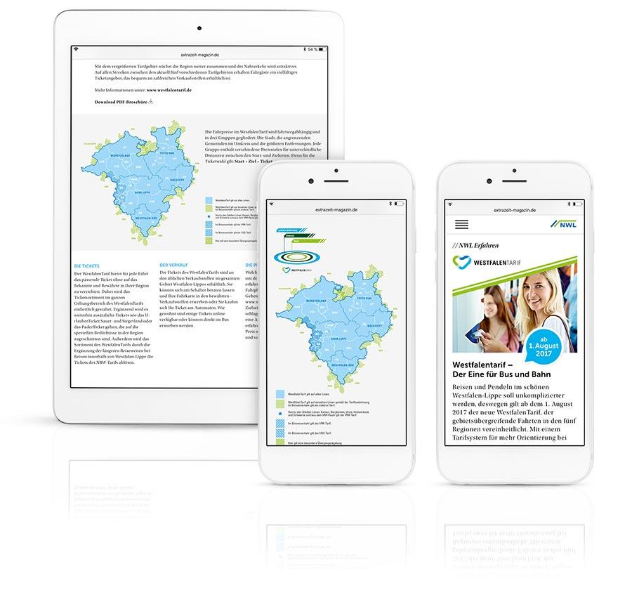 Kundenmagazin Westfalentarif Digital